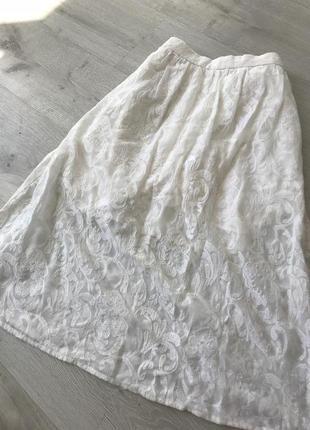 Очень красивая кружевная юбка