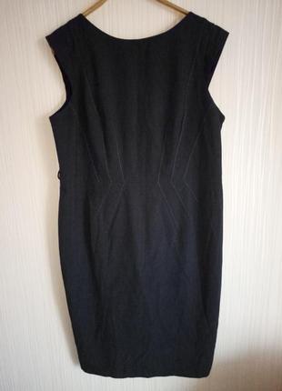 Стильное платье миди 54 размера