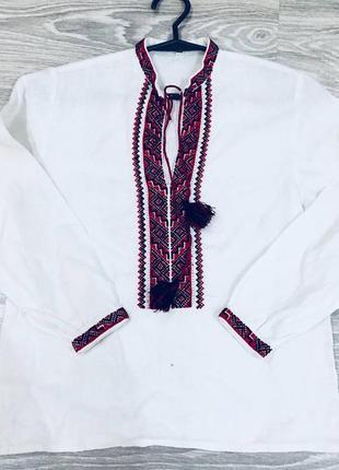 Рубашка с вышивкой , нарядная вышиванка