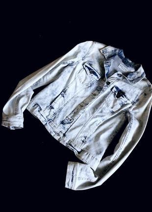 Джинсовая куртка пиджак new look