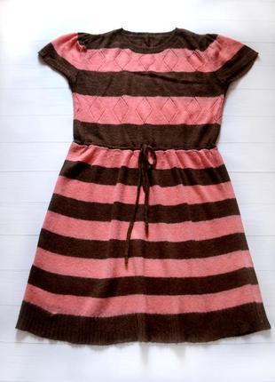 Вязаное платье h&m, размер 36-38