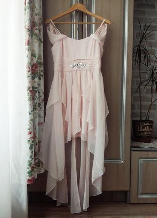 Платье нарядное розовое пудра пудровое белое длинное миди на запах короткое юбка шорты топ