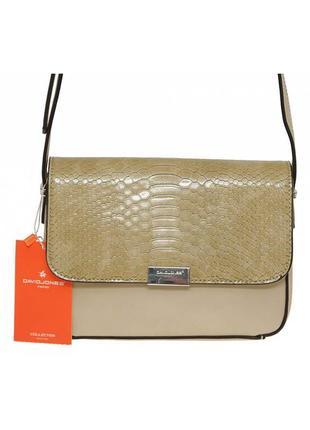 Женская сумка из экокожи david jones 5025-2