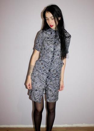Модное платье -рубашка