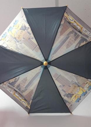 Яркий мультяшный зонтик для мальчика