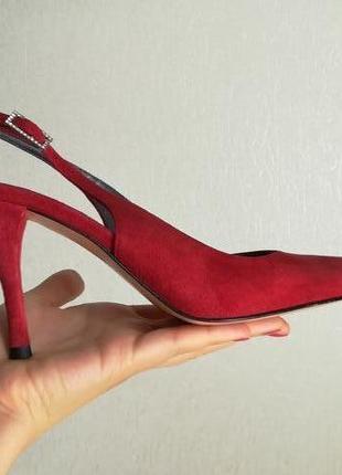 Туфли из натуральной кожи бренда made in italy 26см по стельке