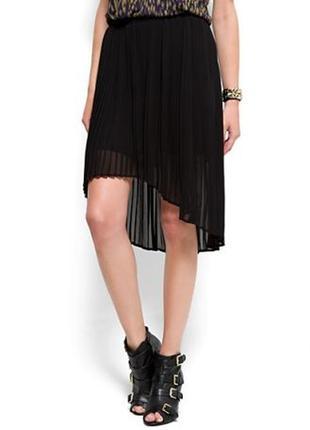 Черная юбка плиссе mango ❤️❤️❤️