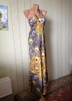 Платье сарафан в пол на выпускной 061c8b46e2621