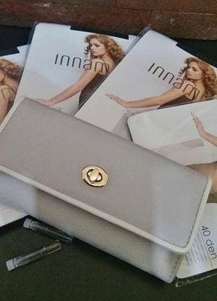 Стильный вместительный кошелёк