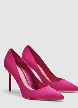 Классные новые туфли zara