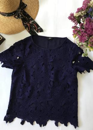 Блуза мереживна f&f