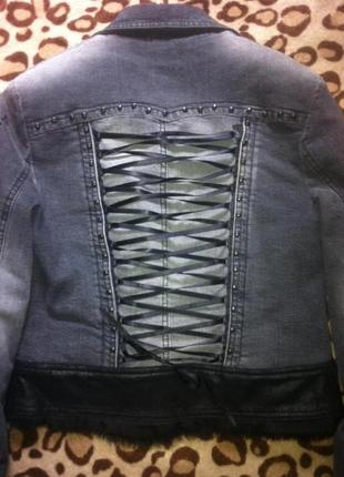 Джинсовый пиджак balizza
