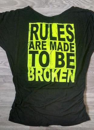 ... Туніка рукав летюча миша   туника рукав летучая мышь rules are made to  be broken2 ... f5b4f59540440