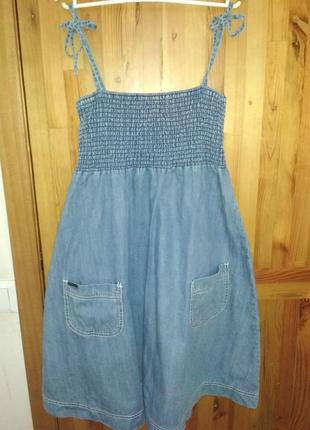 Платье джинсовое size