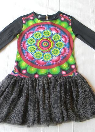 2f6dec1381b Платье для девочки от desigual р.3 4 100 56
