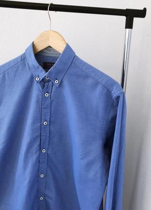 Мужская рубашка классическая zara man3 фото
