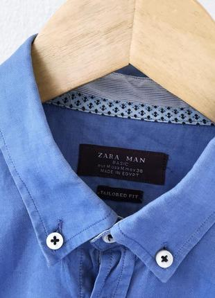 Мужская рубашка классическая zara man4 фото