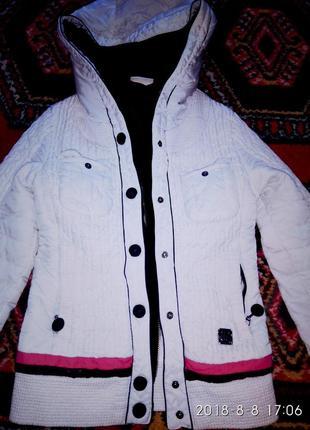 Куртка деми,утепленная