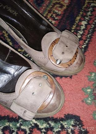 Туфли стиль кэжал
