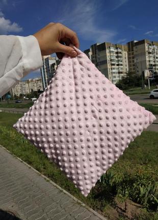 Комплект плед подушка для малышки
