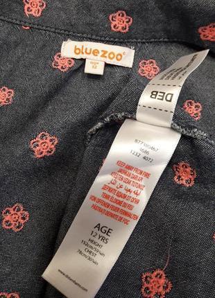 Платье для девочки с вышитыми цветочками5