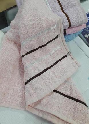 Бюджетное лицевое полотенце турция 100% хлопок 50×90см2