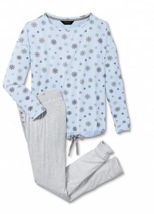 Хлопковая трикотажная пижама.тсм чибо .германия наш 54-56.