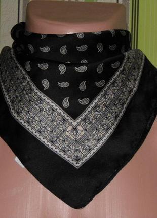 Шейный мужской платок - 56х59 см.