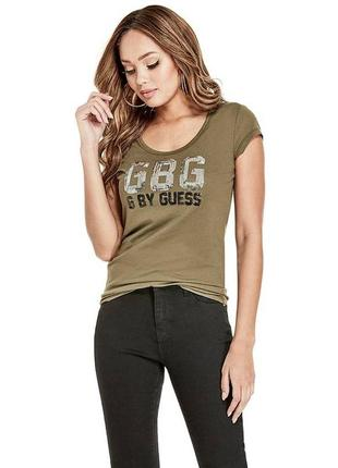 G by guess футболка с паетками