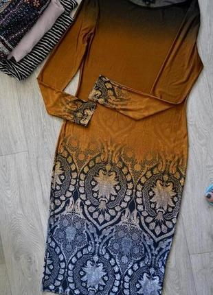 Красивое вечернее платье topshop