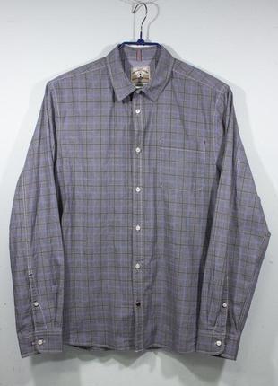 Рубашка мужская white stuff gentlemens relish размер l slim fit состояние отличное