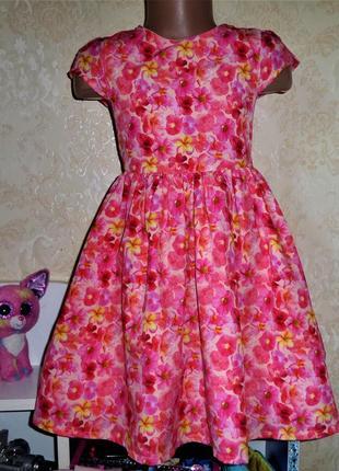 Платье orchestra 5 лет, рост 110 см,