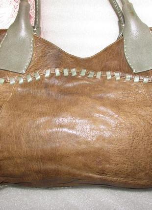 Стильная сумка 100% натуральная кожа~radley~англия