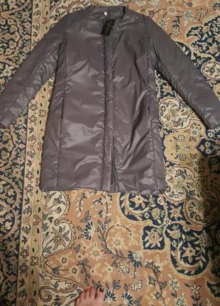 Новая удлиненная куртка. полупальто. демисезон.