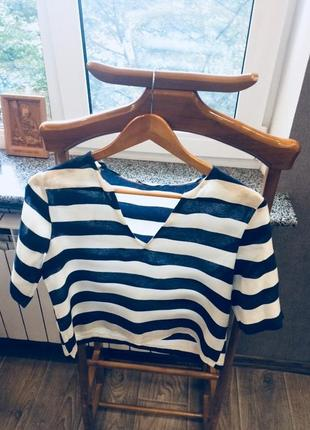 Лён кофта рубашка блуза
