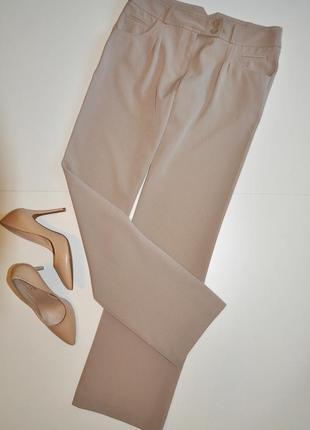 Широкие бежевые брюки south