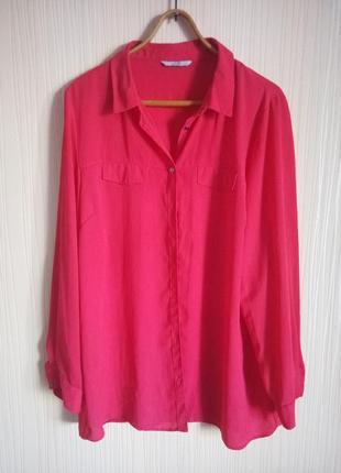 Яркая блузка 54 размера