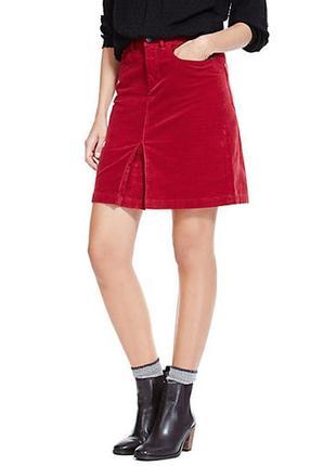 Красивая вельветовая юбка uk 14/наш 48 размер