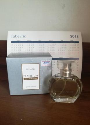 Парфюмерная вода faberlic platinum