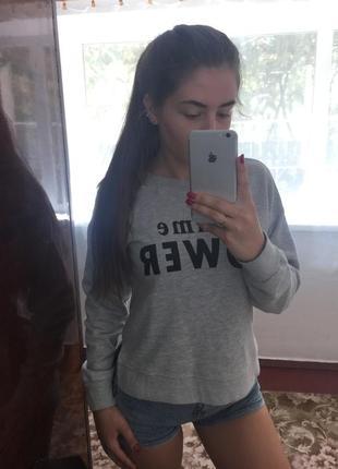 Свитшот bershka