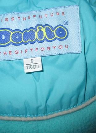 Зимнее пальто donilo, зимняя куртка, рост 116-122 см kiko2 фото