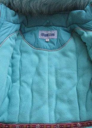 Зимнее пальто donilo, зимняя куртка, рост 116-122 см kiko4 фото
