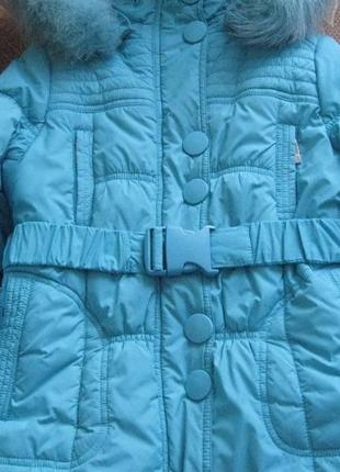 Зимнее пальто donilo, зимняя куртка, рост 116-122 см kiko3 фото