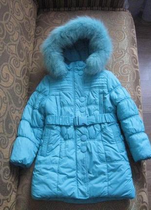 Зимнее пальто donilo, зимняя куртка, рост 116-122 см kiko5 фото