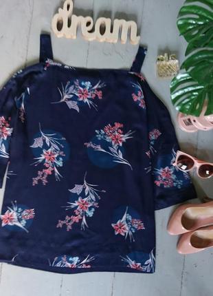 Актуальная блуза с открытыми плечами №30