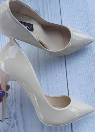 37,41 размер лаковые туфли лодочки