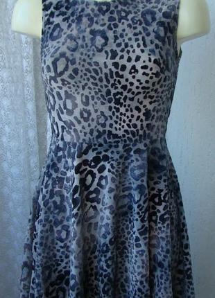 Платье женское летнее модное стрейч мини glamorous р.42 №6205