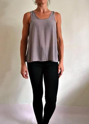 Универсальная легкая базовая блуза, топ, майка atmosphere