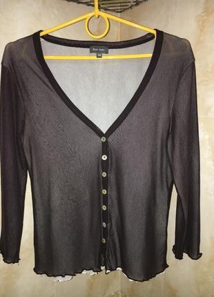 Кофта блуза из двойной сетки