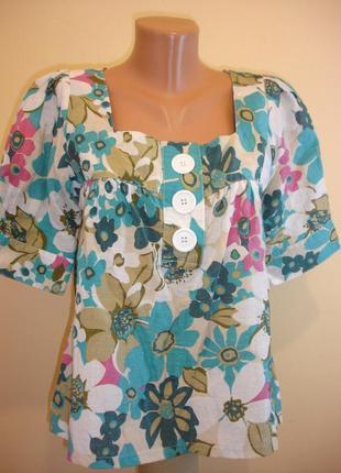 Яркая свободная блуза--atmosphere--madrid  --сток